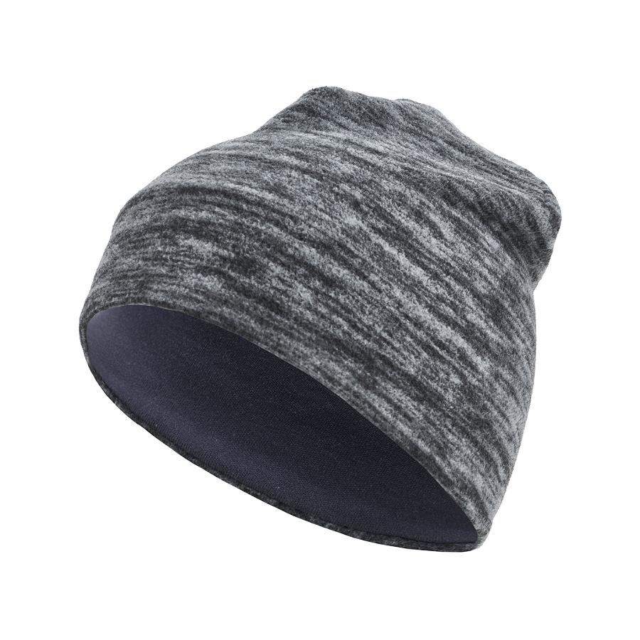Флисовая шапка «Серый меланж» Bambinizon