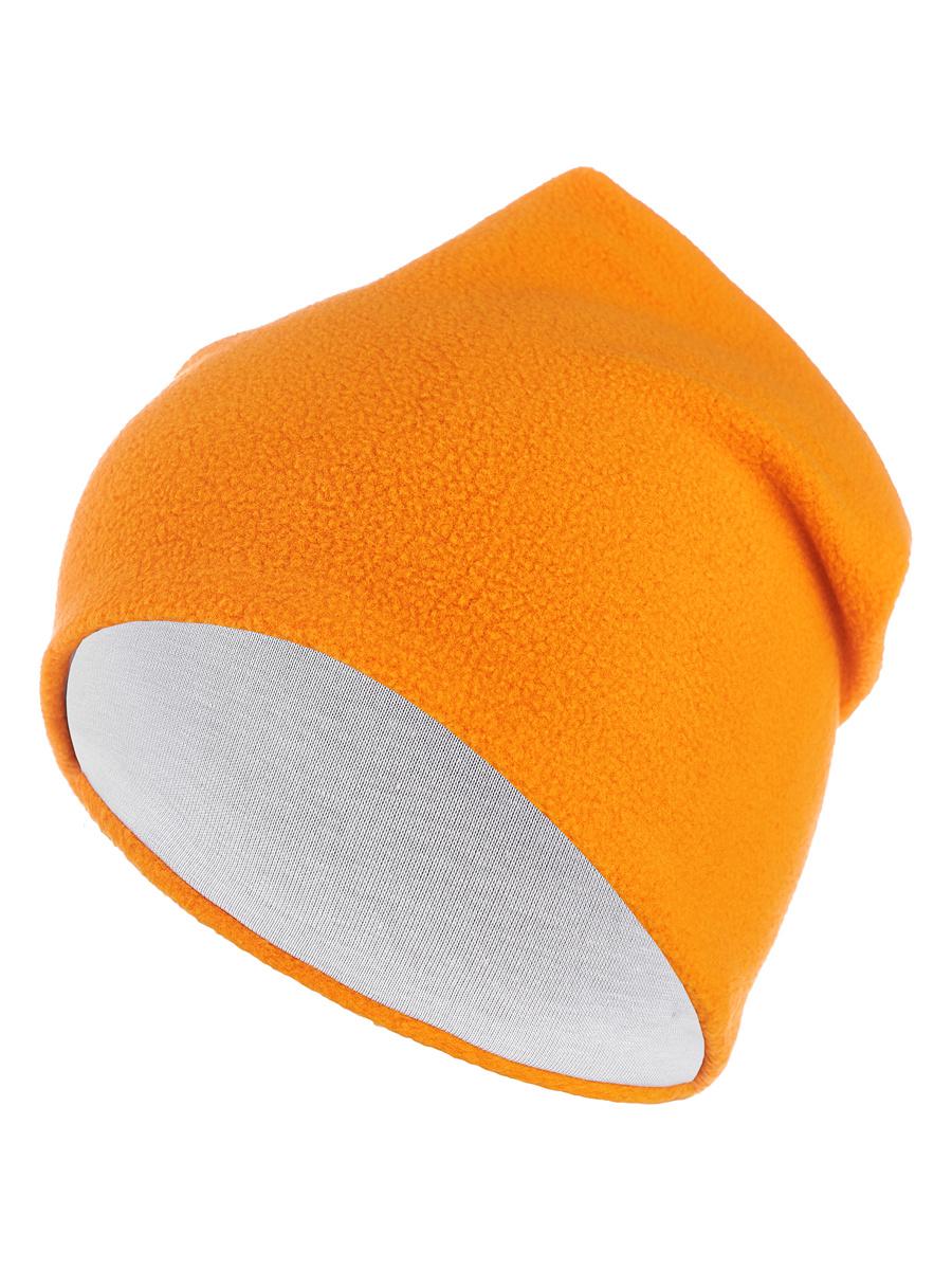 Флисовая шапка «Огненный апельсин» Bambinizon