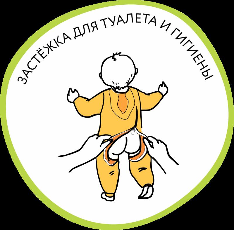 """Флисовый комбинезон на молнии """"Красный"""" ФКМ-К-1 от Бамбинезон"""